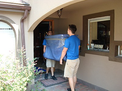 Commercial Movers Moving Heavy Furniture